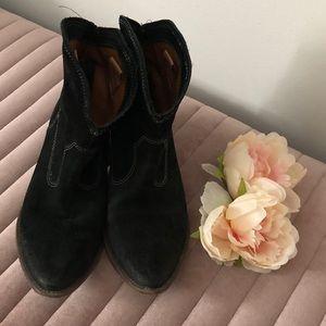 MIA Suede Cowboy Boots